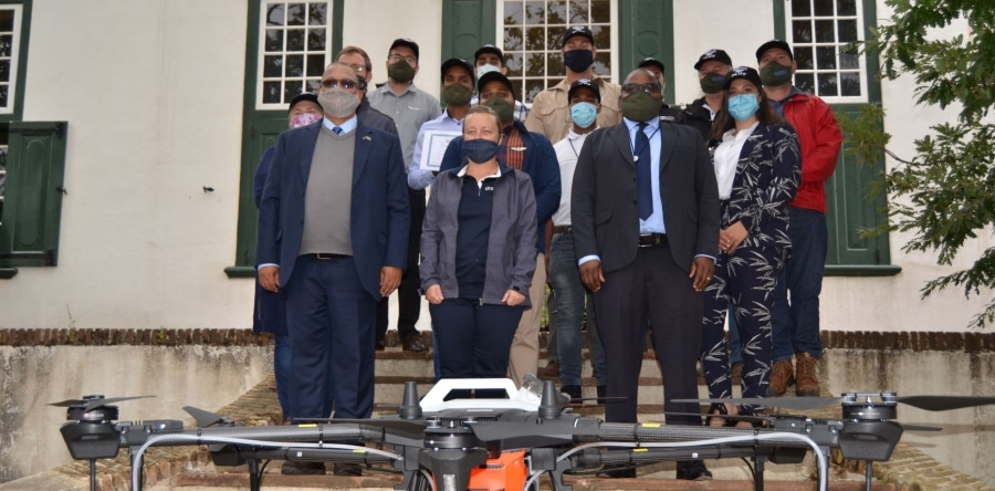 FIRST GROUP OF DRONE PILOTS RECEIVE THEIR WINGS