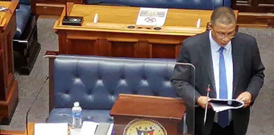 Minister Meyer delivering the Western Cape Agriculture Budget Address